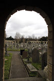Brompton Cemetery in London Royalty Free Stock Photo