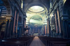 Brompton Oratory, Roman Catholic Church, London, UK royalty free stock photo
