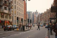 Brompton Road in Knightsbridge, London Stock Images