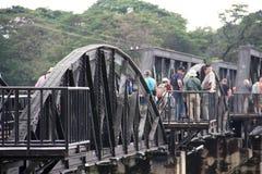 Bron av flodkwaien arkivfoton