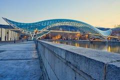 Bron av fred i Tbilisi royaltyfri bild