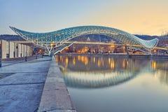 Bron av fred i Tbilisi arkivfoto