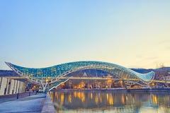 Bron av fred i Tbilisi royaltyfri fotografi