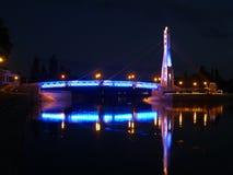 Bron av kyssar på floden Kuban Royaltyfria Foton