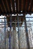 bron byggde nytt Royaltyfria Bilder