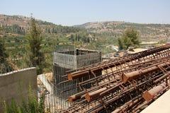 bron byggde nytt Royaltyfria Foton