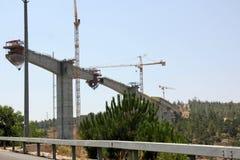 bron byggde nytt Arkivbilder