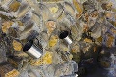 Bron - een natuurlijk remedie ondergronds water op Earth& x27; s Royalty-vrije Stock Afbeelding
