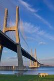 Bron för den Vasco da Gama-inställningen, bench framme Royaltyfri Bild