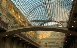 bron gammala moscow shoppar Royaltyfria Bilder