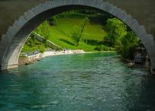 Bron i Bern Arkivfoton