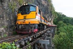 Bron på floden Kwai Fotografering för Bildbyråer