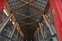 bron räknade interioren Royaltyfri Bild