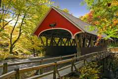 bron räknade nya england Royaltyfri Foto