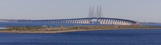 Bron till Skandinavien royaltyfri foto