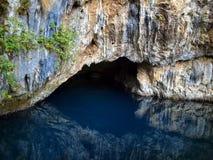 Bron van Buna rivier, Blagaj, Bosnië-Herzegovina Royalty-vrije Stock Foto's