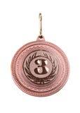 Bronce de la medalla Imagenes de archivo