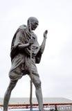 Bronce de Mahatma Gandhi fotografía de archivo libre de regalías
