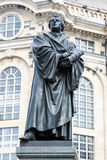 Bronce Statue of Martin Luther Stock Image