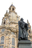 Bronce Statue of Martin Luther Royalty Free Stock Photo