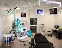 Bronchoscopy utrustning för Autofluorescence arkivfoton