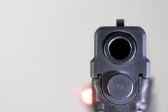 Bronie, krócica, pistolet, ręka pistolet, obrona Fotografia Stock