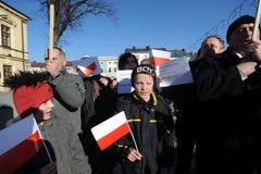 Bronislaw Komorowski Präsident von Polnad Lizenzfreie Stockfotos