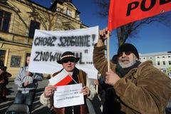 Bronislaw Komorowski prezydent Polnad Zdjęcia Stock