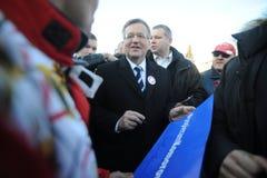 Bronislaw Komorowski prezydent Polnad Zdjęcie Royalty Free