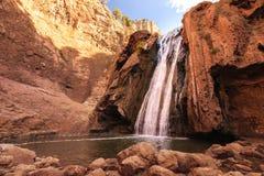 Bronnen Oum ER Rbia, het Nationale Park van Aguelmam Azigza, Marokko Stock Afbeeldingen