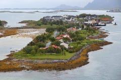 Bronnoysund, Norvegia Fotografia Stock