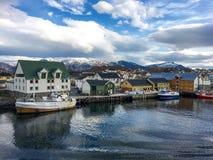 Bronnoysund, Norvegia Immagini Stock Libere da Diritti