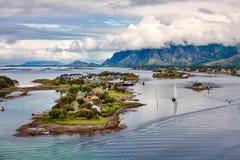 Bronnoysund Norway Royalty Free Stock Images