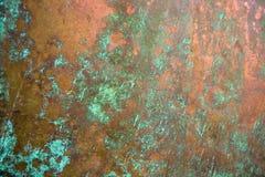 Brons achtergrondtextuur Royalty-vrije Stock Afbeeldingen