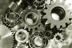 brons gears ståltoning Royaltyfria Bilder