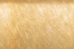 Brons of koper de achtergrond van de metaaltextuur Gekraste lichtbruine naadloze bronstextuur royalty-vrije stock afbeelding