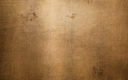 Brons of kopermetaaltextuur royalty-vrije stock afbeeldingen