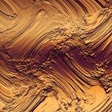 Brons lerig texturbakgrund Mycket rikt & lyxigt metalliskt konstverk royaltyfri bild