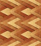 Brons metaal naadloos patroon Stock Foto