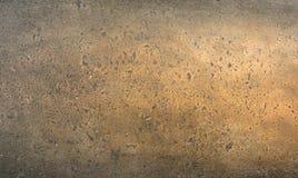 Brons - metalltextur Royaltyfri Fotografi