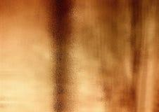 Brons shinny abstrakt koppar texturerad bakgrund Royaltyfria Bilder