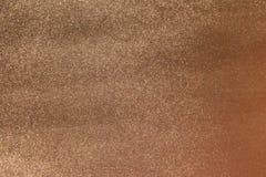 Brons skinande metallisk yttersidabakgrund M?rk koppartexturbakgrund royaltyfri bild