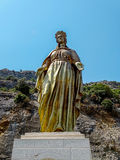 Brons välsignade jungfruliga Mary Arkivfoto