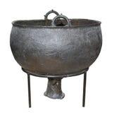 Bronskittel. Scythians 4th århundrade F. KR. Arkivbild