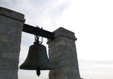 Bronsklok als symbool van geloof Royalty-vrije Stock Afbeeldingen