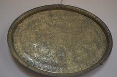 Bronsmagasin med modeller royaltyfri bild