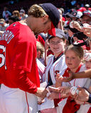 Bronson Arroyo, Boston Red Sox Fotografia Stock