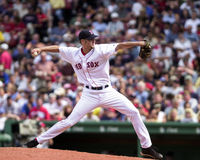 Bronson Arroyo, Boston Red Sox Stock Images