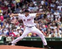 Bronson Arroyo, les Red Sox de Boston Images stock