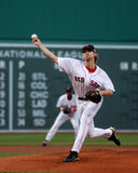 Bronson Arroyo, les Red Sox de Boston Images libres de droits